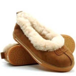UGG Rylan Chestnut Suede Slippers Style#1871